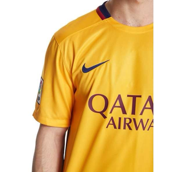 9eb9898e3a9 NIKE 658785-740 FC Barcelona Football Soccer Away Shirt 2015-16 - Size Large  NEW